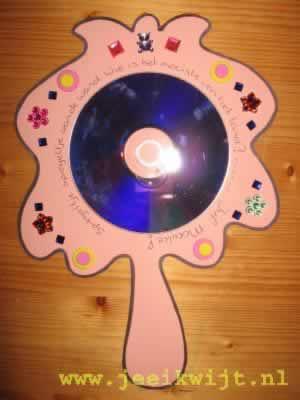 Spiegel Van Een Cd Of Dvd