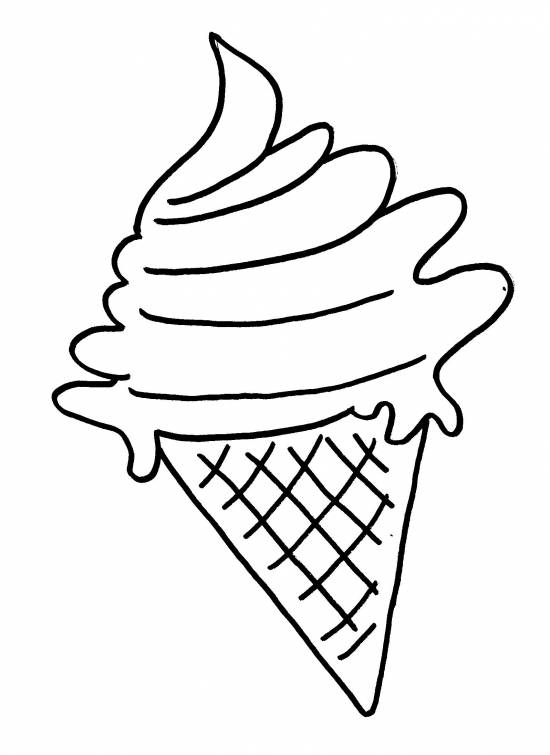 Afbeelding Cupcake Kleurplaat Zomerknutsel Ijsje 4