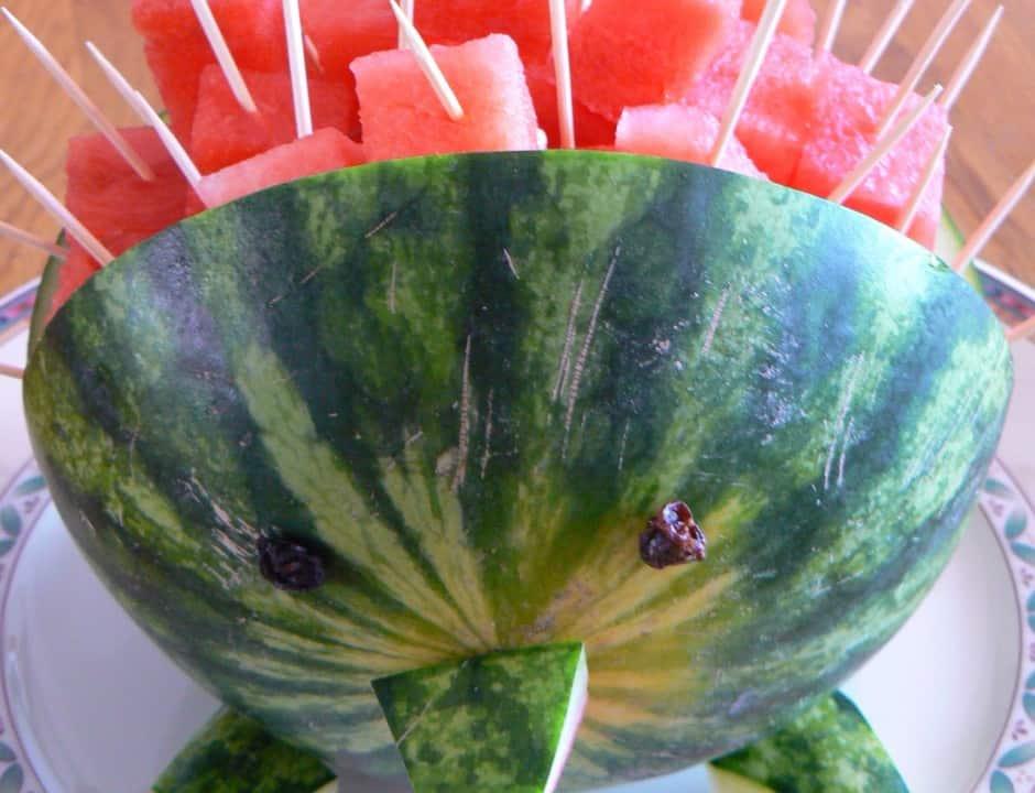 watermeloen traktatie