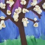 Voorjaar knutselen bloesemboom.