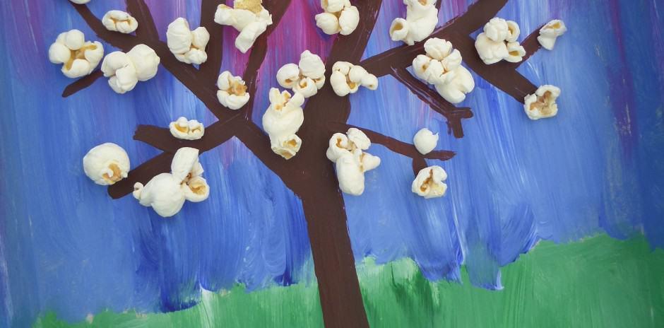 voorjaar knutselen bloesemboom
