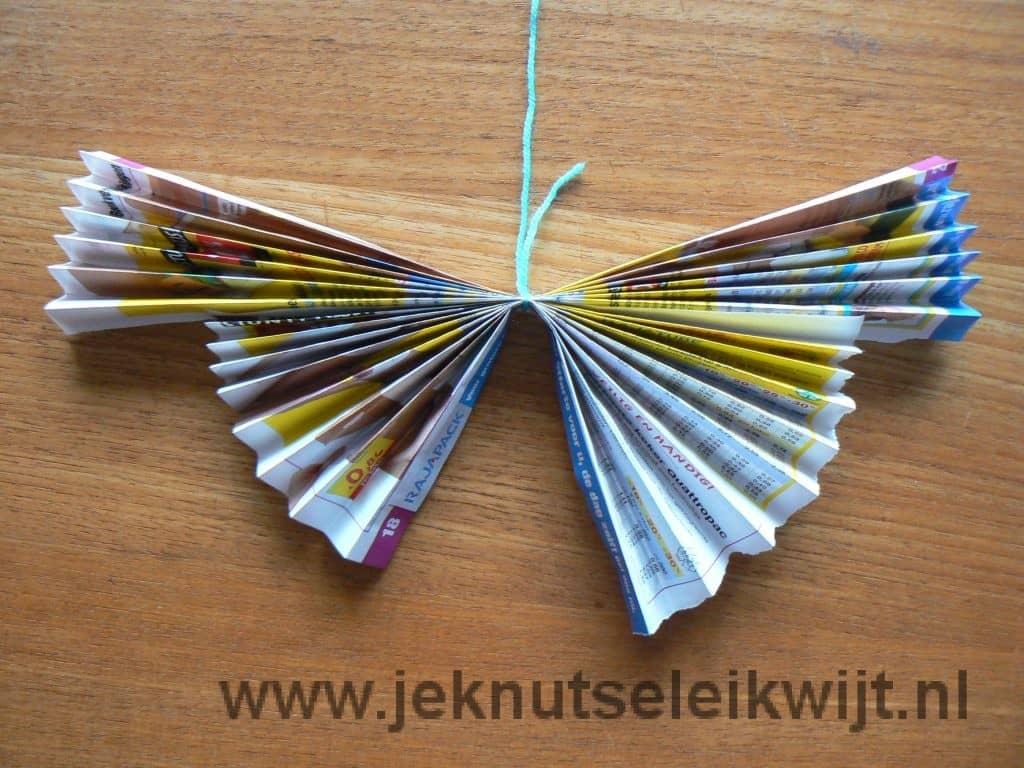 Vlinder vouwen