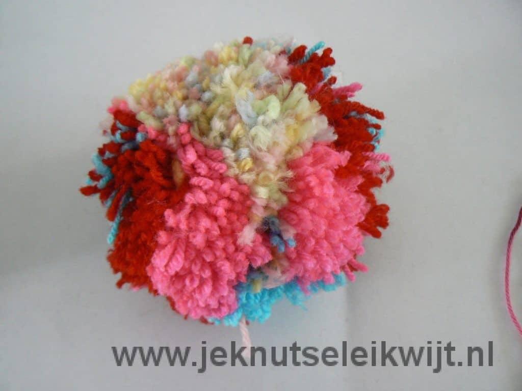 Pompoen van wol