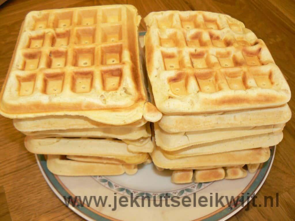wafels recept