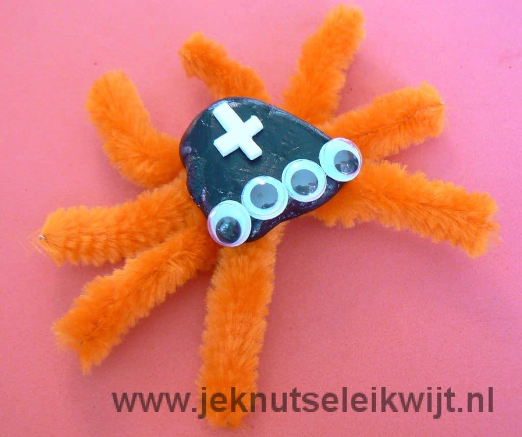 Poten van spin knutselen