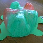 Knutsel idee Schildpad van lege fles