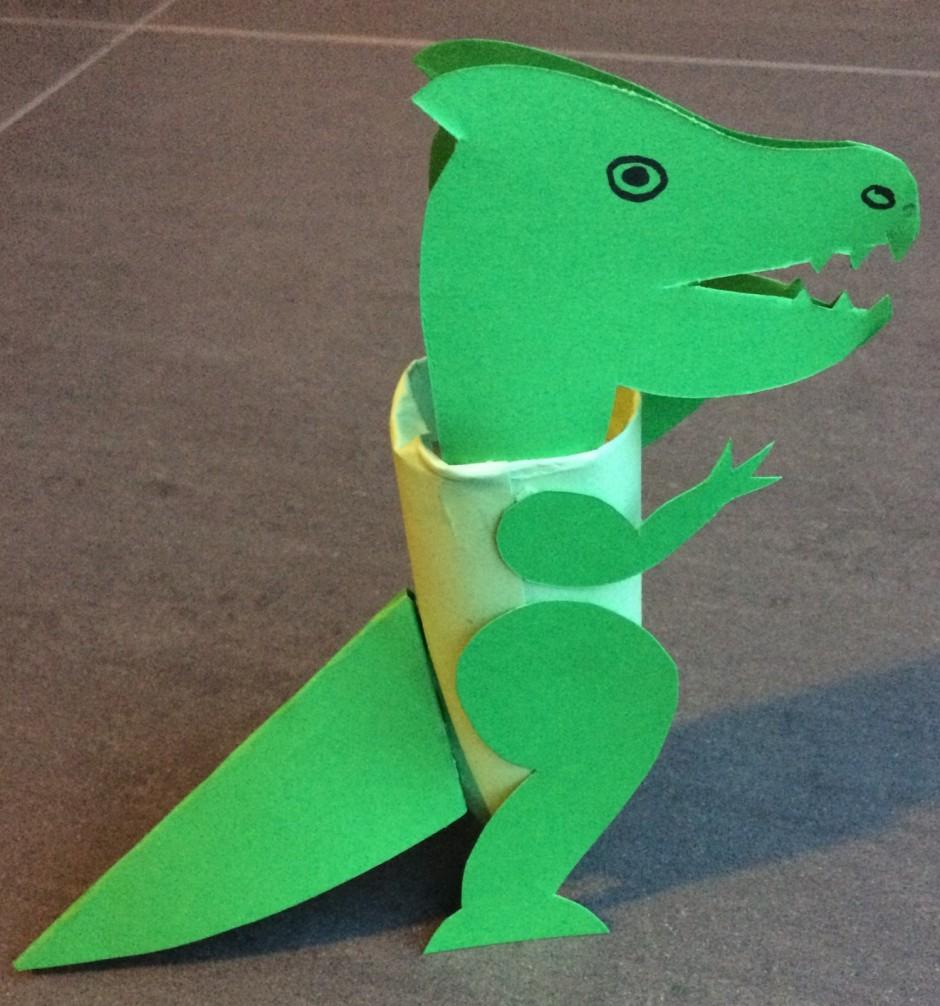 New Draak knutselen van wc rol - Knutsel ideeën voor kinderen #LD47