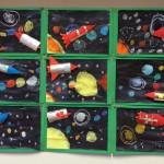 Raket en zonnestelsel knutselen