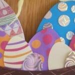 Paasmandje knutselen van papieren bordje