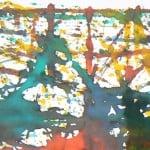 Ecoline knikker kunstwerk