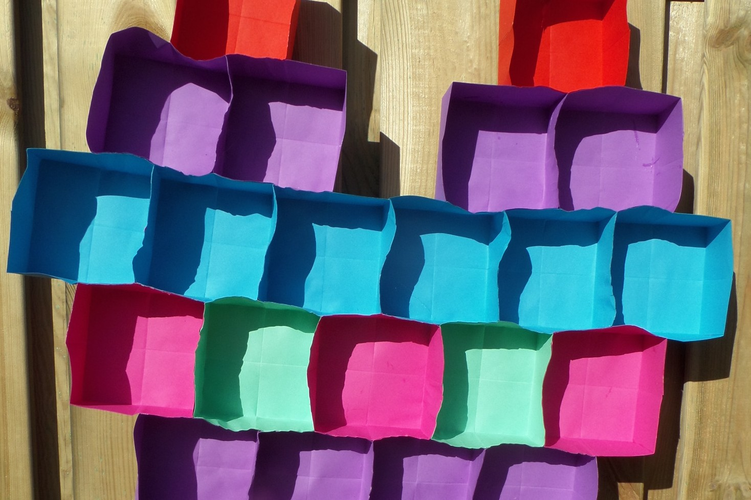 Moederdag hart knutselen van doosjes van vouwblaadjes for Dingen voor moederdag