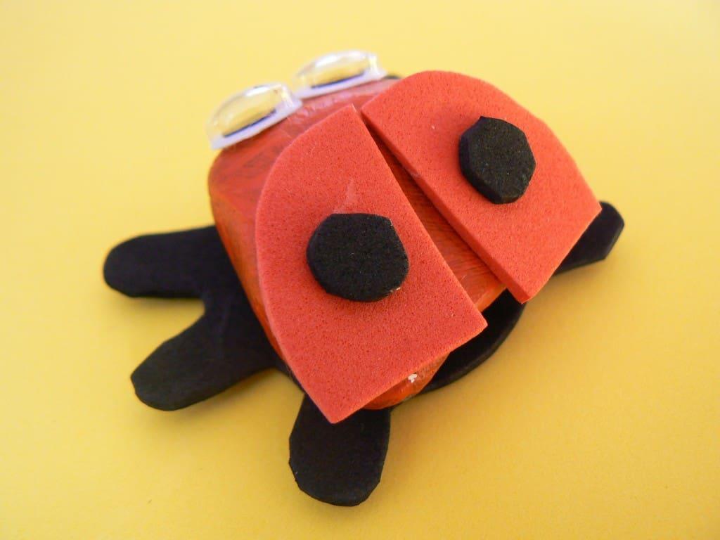 Lieveheersbeestje knutselen