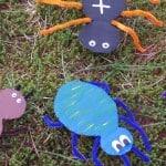 Insecten knutselen van karton