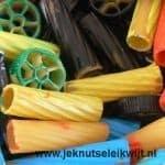 Penne Ruote Rigatoni pasta verven
