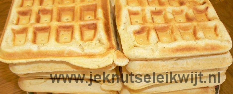 Wafels recept
